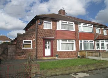 Thumbnail 3 bed property to rent in Hillfoot Avenue, Hunts Cross, Liverpool