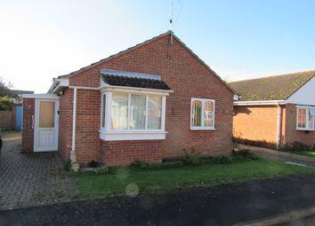 Thumbnail 2 bedroom detached bungalow for sale in Johnson Crescent, Heacham, Kings Lynn, Norfolk