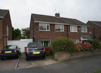 Thumbnail 3 bed semi-detached house to rent in Hartland Drive, Sunnyhill, Derby