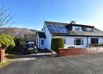 Thumbnail 3 bed semi-detached house for sale in Old Ferry Road, North Ballachulish