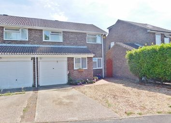 Thumbnail 3 bed semi-detached house for sale in Plymouth Drive, Hill Head, Fareham