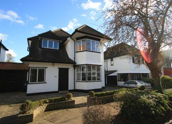 Thumbnail 4 bed detached house for sale in Meadway, Westcliff, Westcliff-On-Sea