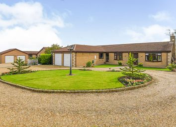 Thumbnail 3 bed detached bungalow for sale in Corby Road, Swayfield, Grantham