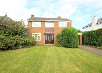 Thumbnail 3 bed detached house to rent in Village Road, Northop Hall, Flintshire