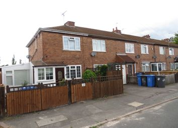 Thumbnail 2 bed end terrace house for sale in Lord Street, Allenton, Derby