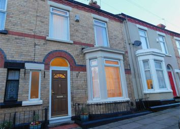 Thumbnail 3 bed terraced house to rent in Burdett Street, Liverpool, Merseyside