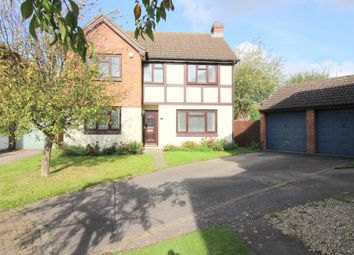 Thumbnail 4 bed detached house for sale in Bradshaws Close, Barton Le Clay, Bedfordshire