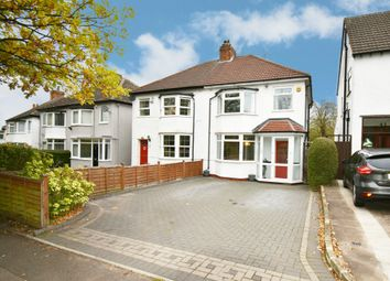 Thumbnail 3 bed semi-detached house for sale in Webb Lane, Hall Green, Birmingham