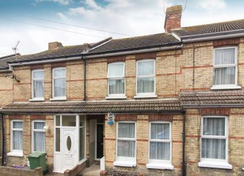 Thumbnail 2 bed terraced house for sale in Grove Road, Folkestone