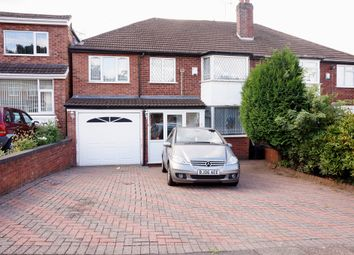 Thumbnail 5 bedroom semi-detached house for sale in Medcroft Avenue, Handsworth Wood, Birmingham