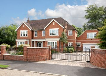 Thumbnail 5 bed detached house to rent in Silwood Close, Ascot