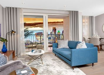 Thumbnail 1 bed flat for sale in 24 - 28 Quebec Way, London
