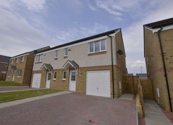 Thumbnail 3 bed semi-detached house for sale in Glenmill Crescent, Glasgow