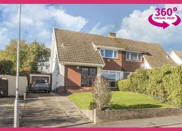 Thumbnail 4 bed semi-detached house for sale in Fairfield Road, Caerleon, Newport