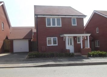 Thumbnail 3 bed property to rent in St. Michaels Way, Cranbrook, Exeter