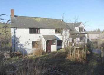 Thumbnail 4 bed farm for sale in The Glyn, Llanfair Caereinion, Welshpool, Powys