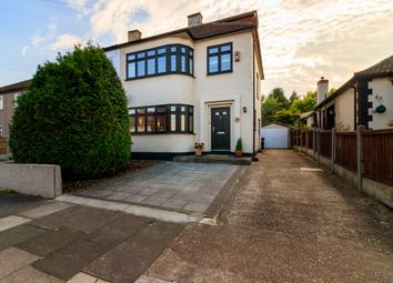 Thumbnail 4 bed semi-detached house for sale in Lingfield Avenue, Upminster