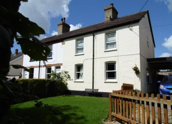 Thumbnail 4 bed semi-detached house for sale in High Street, Wrestlingworth