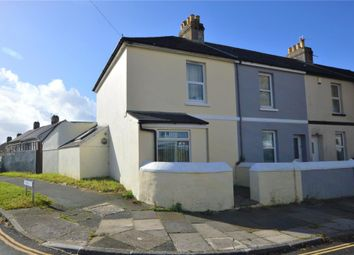 Thumbnail 2 bed end terrace house for sale in Coombe Park Lane, Plymouth