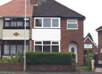 Thumbnail 3 bed semi-detached house to rent in Lawfred Avenue, Wolverhampton