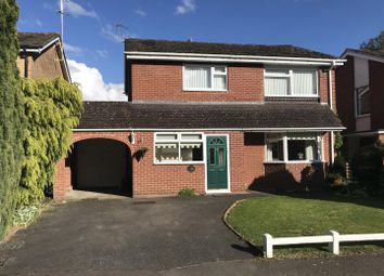 Thumbnail 4 bedroom detached house for sale in Meyrick Drive, Newbury