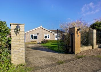 Thumbnail 4 bed detached bungalow for sale in Front Road, Murrow, Wisbech