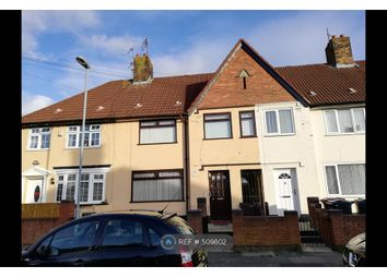 Thumbnail 3 bedroom terraced house to rent in Pennard Avenue, Liverpool