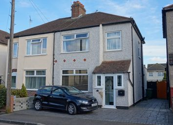 Thumbnail 3 bed semi-detached house for sale in Wellington Road, Belvedere