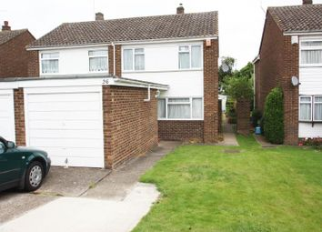 Thumbnail 3 bed semi-detached house to rent in Roakes Avenue, Addlestone