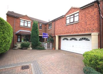 Thumbnail 5 bed detached house for sale in Eleanor Court, Edenthorpe, Doncaster