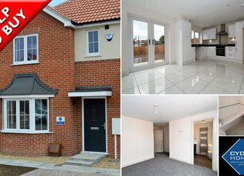 Thumbnail 3 bed town house for sale in Plot 40, The Iolite, De Montfort Park, Off Mill Road, Boston