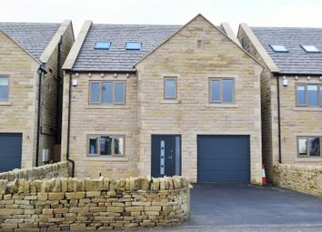 Thumbnail 6 bed detached house for sale in Shibden View, Long Lane, Queensbury
