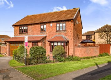 Thumbnail 4 bed detached house for sale in Sandhall Close, Billingham