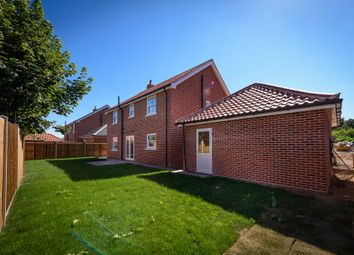 Thumbnail 4 bedroom detached house for sale in Mill Close, Poringland