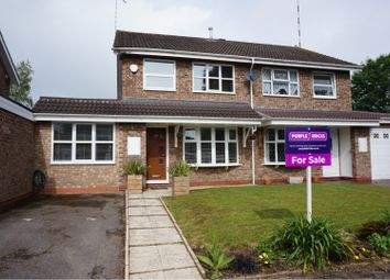 Thumbnail 3 bed semi-detached house for sale in Willow Brook Road, Coventry
