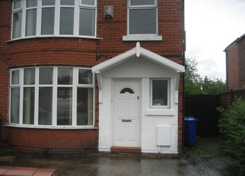 Thumbnail 3 bedroom shared accommodation to rent in Finchley Close, Manchester