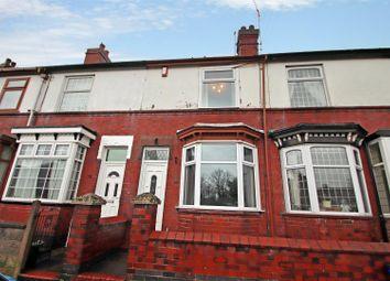Thumbnail 3 bed terraced house for sale in Boulton Street, Wolstanton, Newcastle