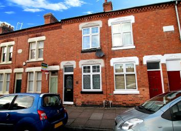 Thumbnail 2 bed terraced house for sale in Montague Road, Clarendon Park, Leicester
