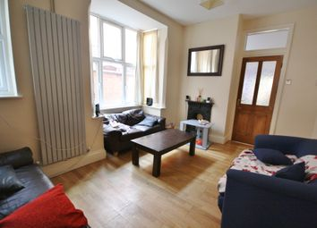 Thumbnail 5 bed terraced house to rent in Harrow Road, West End, Leicester