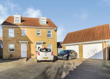 Thumbnail 3 bed semi-detached house for sale in Spicer Way, Sudbury