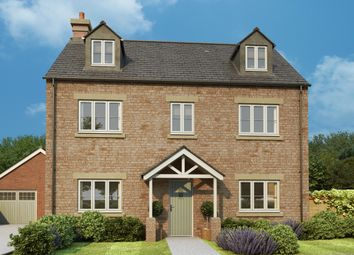 Thumbnail 5 bed detached house for sale in Ash Gardens, Burcote Road, Wood Burcote, Towcester