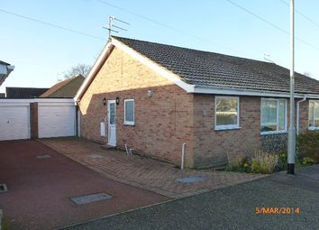 Thumbnail 2 bed semi-detached bungalow to rent in Silver Gardens, Belton, Great Yarmouth