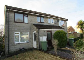 Thumbnail 1 bed flat for sale in 12 Martins Close, Evercreech, Shepton Mallet, Somerset