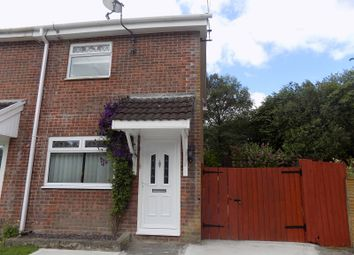 Thumbnail 2 bedroom end terrace house for sale in Westward Close, Llangewydd Court, Bridgend.