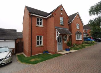 Thumbnail 3 bed detached house to rent in Barons Close, Kirkby Muxloe