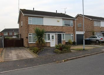 Thumbnail 3 bed semi-detached house for sale in Warwick Rd, Broughton Astley, Leicester