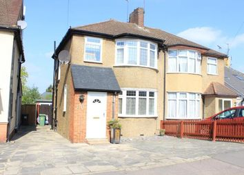 Thumbnail 3 bed semi-detached house for sale in Caterham Avenue, Clayhall, Ilford