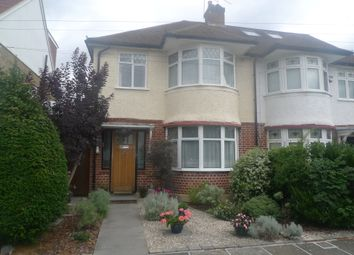 Thumbnail 3 bed semi-detached house for sale in Derwent Road, Whitton