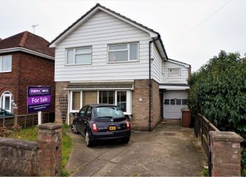 Thumbnail 4 bed detached house for sale in Newark Road, Peterborough