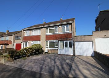Thumbnail 3 bed semi-detached house for sale in Heath Rise, Warmley, Bristol
